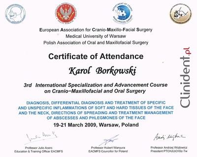 maxillo-facciale chirurgo Wroclaw