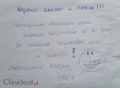 Opinioni dei pazienti per CLINIDENT dentista